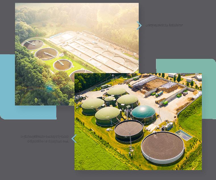 Zajmujemy się również zagospodarowywaniem odpadów z zakładów przemysłowych poprzez